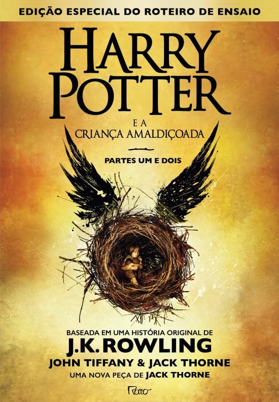 Harry Potter - Capa HP e a crianaça amaldiçoada